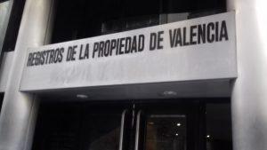 Registro de la Propiedad de Valencia